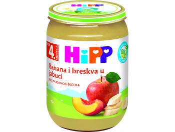 Hipp dječja hrana banana breskva i jabuka 190 g