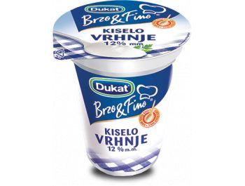 Dukat Brzo&Fino kiselo vrhnje 12% m.m. 400 g
