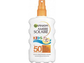 Garnier Ambre Solaire Kids mlijeko za sunčanje u spreju SPF 50 200 ml