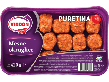 Vindija Vindon pureće mesne okruglice 420 g