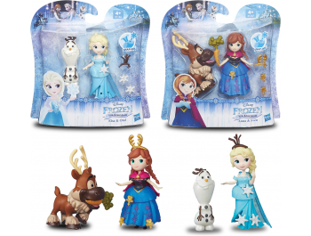 Lutka Frozen i dodaci 1 kom