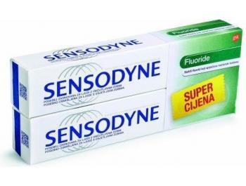 Sensodyne Fluoride pasta za zube 1 pak 2x75 ml