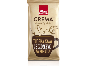 Franck crema mljevena kava 9 g