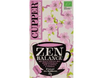 Cupper BIO zeleni čaj balance 35 g