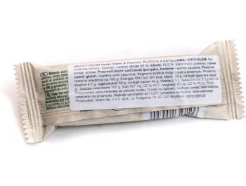 Energetska pločica datulje i kikiriki 28 g