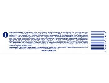 Saponia Faks deterdžent za rublje Aquamarine  260 g