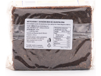 Delba bio kruh integralni 500 g