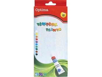Optima tempera 12 ml 10 kom