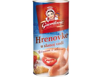 Gavrilović hrenovke u slanoj vodi 570 g ocijeđena masa 300 g