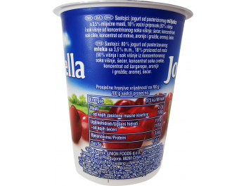 Jogobela jogurt višnja voćni 150 g