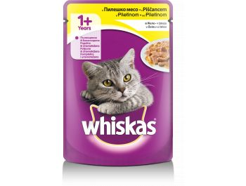 Whiskas  Hrana za mačke piletina vrećica100 g