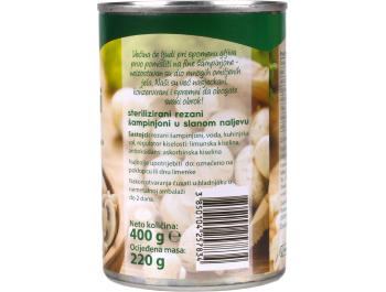 Podravka šampinjoni rezani 400 g
