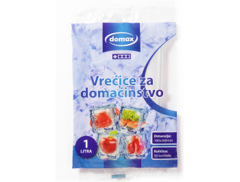 Domax vrećice za domaćinstvo zapremnina 1 L