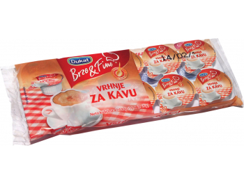 Dukat Brzo & Fino vrhnje za kavu 10 x 10 g