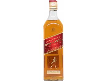 Red label Johnnie Walker Whiskey 0,7 L