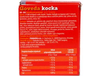 Podravka kocka za juhu goveđa 40 g