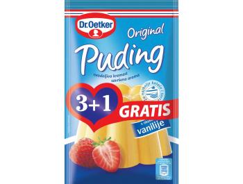 Dr. Oetker Puding vanilija 1 pak. 4x38 g, 3+1 gratis