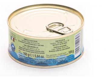 Mister Ton tuna u maslinovom ulju 160 g ocijeđena masa = 104 g