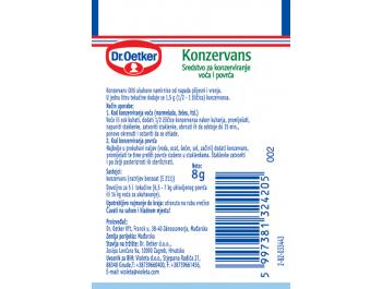 Dr. Oetker konzervans 8 g