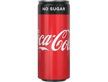 Coca-Cola No Sugar 330 ml