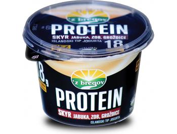 Vindija 'z bregov Protein islandski tip jogurta jabuka, grožđice i zob 200 g