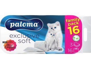 Paloma toaletni papir troslojni exclusive soft 16 rola