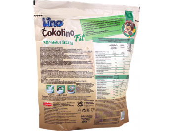Lino čokolino fit vrećica 400 g