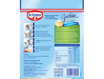 Dr.Oetker galleta puding vanilija 85 g