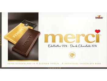 Merci Tamna čokolada 72% 100 g