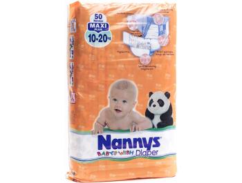 Nanny's Pelene Baby maxi+ 50 kom