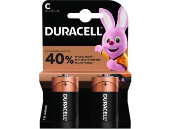 Duracell alkalna baterija basic poluamerican,LR14, K2 MN 1400 2 kom
