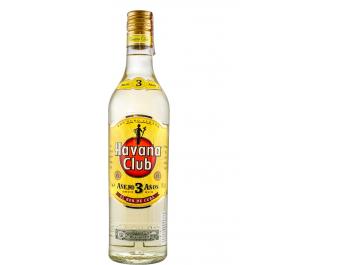 Havana Club 3yo rum 0,7 L
