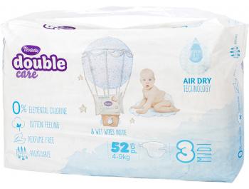 Violeta Double Cotton Dječje pelene vel. 3 (4-9 kg) 52 kom
