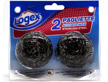 Logex inox žica za čišćenje 2 kom