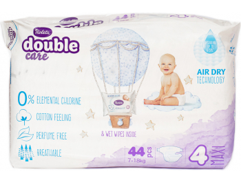 Violeta Double Care Cotton Dječje pelene vel. 4 (7-18 kg) 44 kom