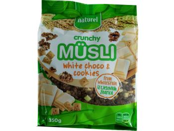 Naturel crunchy musli bijela čokolada i keks 350 g