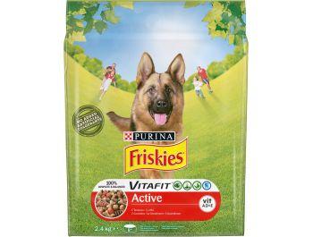 Friskies Vitafit Active hrana za pse govedina 2,4 kg