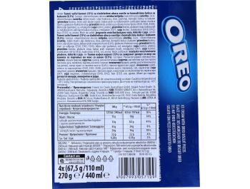 Oreo sladoled kornet 4 x 110 ml
