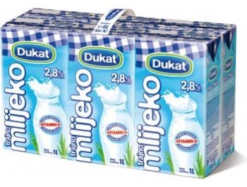 Dukat trajno mlijeko 1 pak 6x1 L 2,8% m.m.