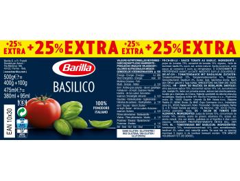 Barilla Basilico umak 400 g, +25 % GRATIS