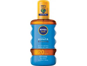 Nivea Sun protect & bronze ulje za sunčanje u spreju SPF 20 200 ml