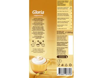 Gloria cappuccino vanilija 200 g