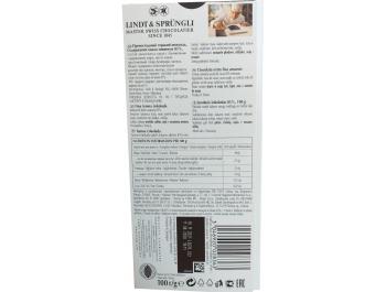 Lindt čokolada tamna s 85 % kakaa 100 g