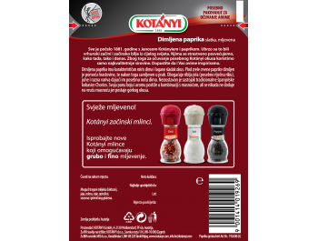 Kotanyi paprika s aromom dima 25 g