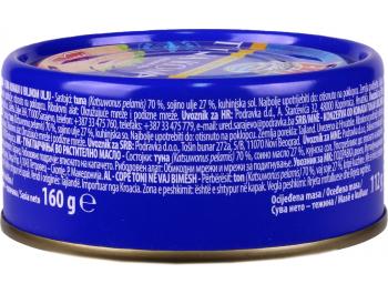 Podravka Eva tuna komadi u biljnom ulju 160 g