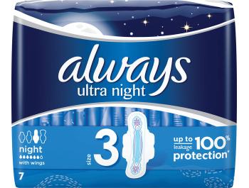 Always ulošci Ultra night 7 kom