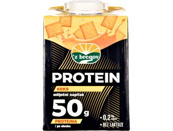 Vindija 'z bregov mliječni proteinski napitak keks 0,5 L