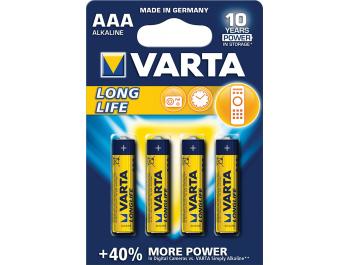 Varta baterija AAA LR03 1,5V 4 kom
