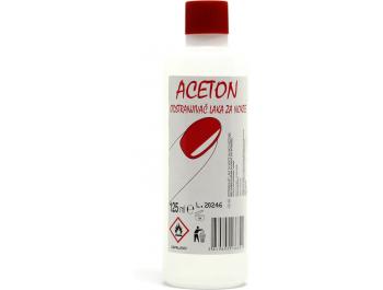 Aceton Odstranjivač laka za nokte 125 ml