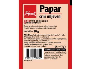 Franck Papar crni mljeveni 10 g